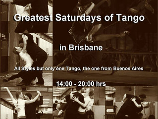 Another Saturday, Another Great Tango Experience!