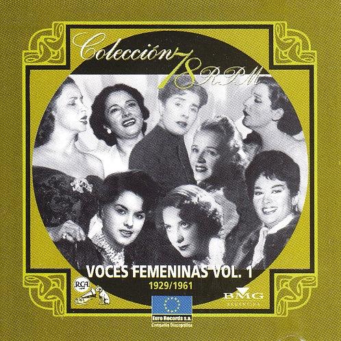 """""""VOCES FEMENINAS"""" Vol 1."""