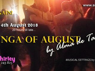 4th August Is Milonga Alma de Tango Night!