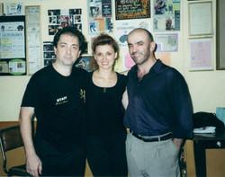 Gustavo Naveira y Giselle Anne