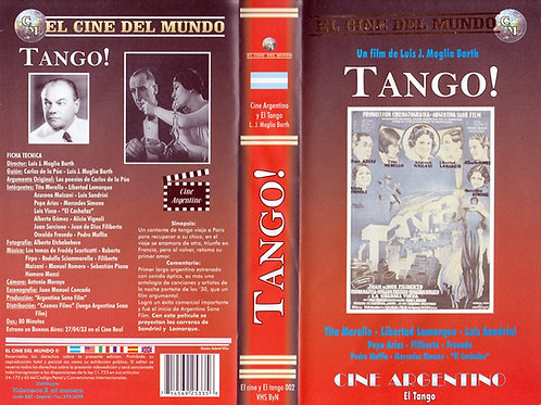 "ORIGINAL VHS 1930 ""TANGO!"" THE MOVIE"