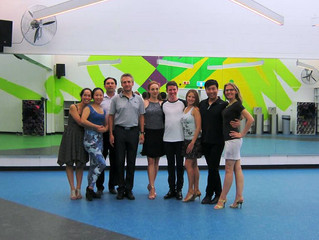 End of The Summer Semester Tango Course 2015-16