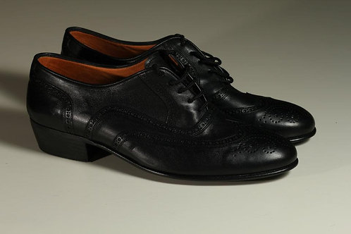MEN Shoe black leather GREAT STYLE.