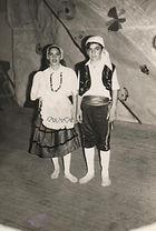 Hugo a los 11 años, bailarín de danzas españolas