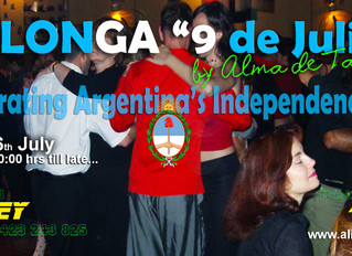 Join Our Milonga Of The Independence!