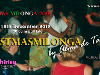 Christmas Milonga 2018 This Saturday!
