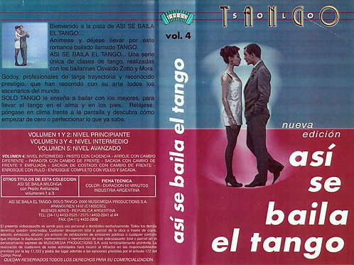 ASI SE BAILA EL TANGO (THIS IS THE WAY TO DANCE TANGO) Vol4