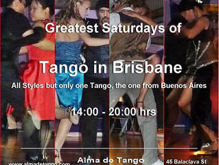 Another Greatest Saturday of Tango in Brisbane!