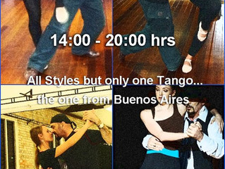 So Much Tango So Little Time, Greatest Saturday is Today...