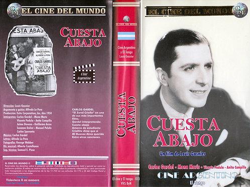 """""""Cuesta Abajo"""" VHS Original Movie - Carlos Gardel"""