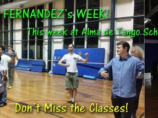 Hugo Fernandez is Teaching Next Week!