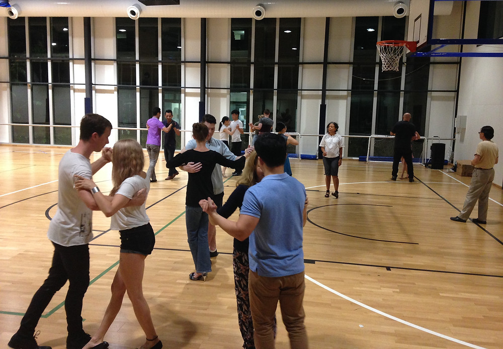 Great Enthusiasm Among the New Group of Tango Dancers at UQ!