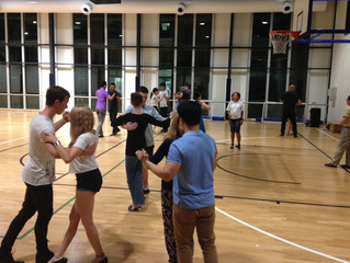 4th Class at our UQ Sport Tango Course