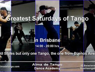 Greatest Saturday in Brisbane's Tango is Tomorrow!