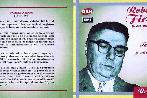 """""""TANGOS Y VALSESITOS"""" - Roberto Firpo"""
