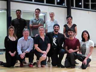 Great Start of The Argentine Tango Crash Course at UQ Sport!