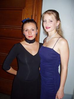 Elena & Monica at the Green Room