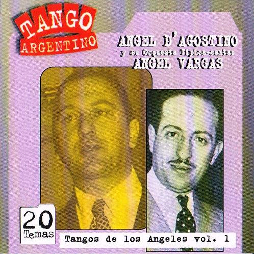 "ANGEL D'AGOSTINO -ANGEL VARGAS ""Tangos de los Angeles"""