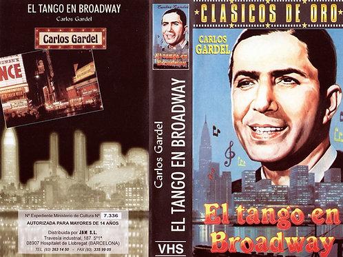 """""""El Tango En Broadway"""" VHS Original Movie - Carlos Gardel"""
