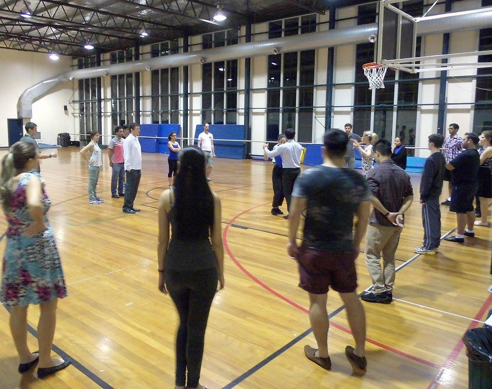 Tango Course Class at The University of Queensland