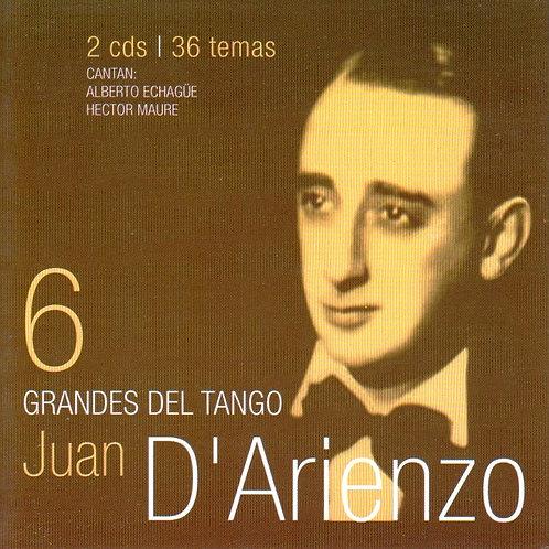 """JUAN D'ARIENZO """"Grandes del Tango"""""""