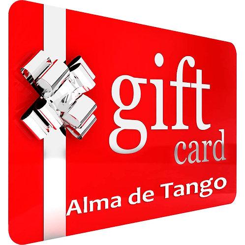 $32 Alma de Tango Gift Card