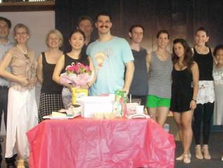 Double Birthday Celebration, Marcel and Shirley: Super-Happy Birthday to Both!