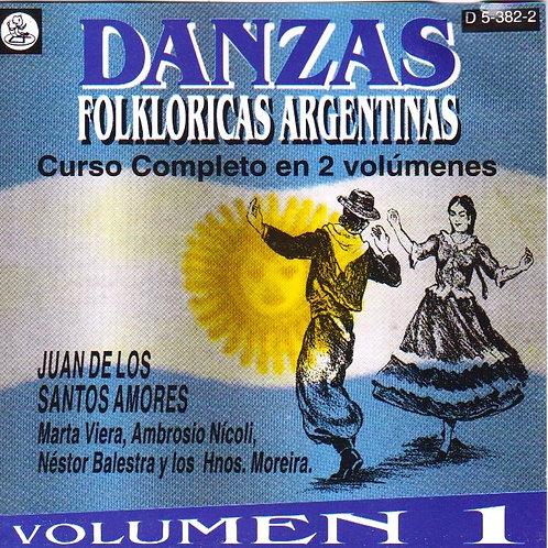 DANZAS FOLKLORICAS ARGENTINAS Vol 1