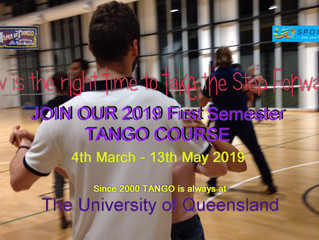 1st Semester 2019 - The Ultimate UQ Sport Tango Course