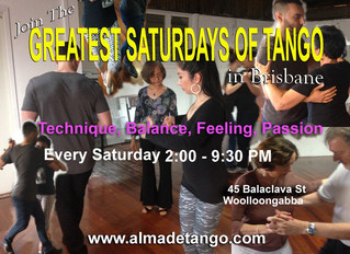 Every Saturday is Alma de Tango's Way