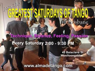 Every Saturday is Alma de Tango's Way