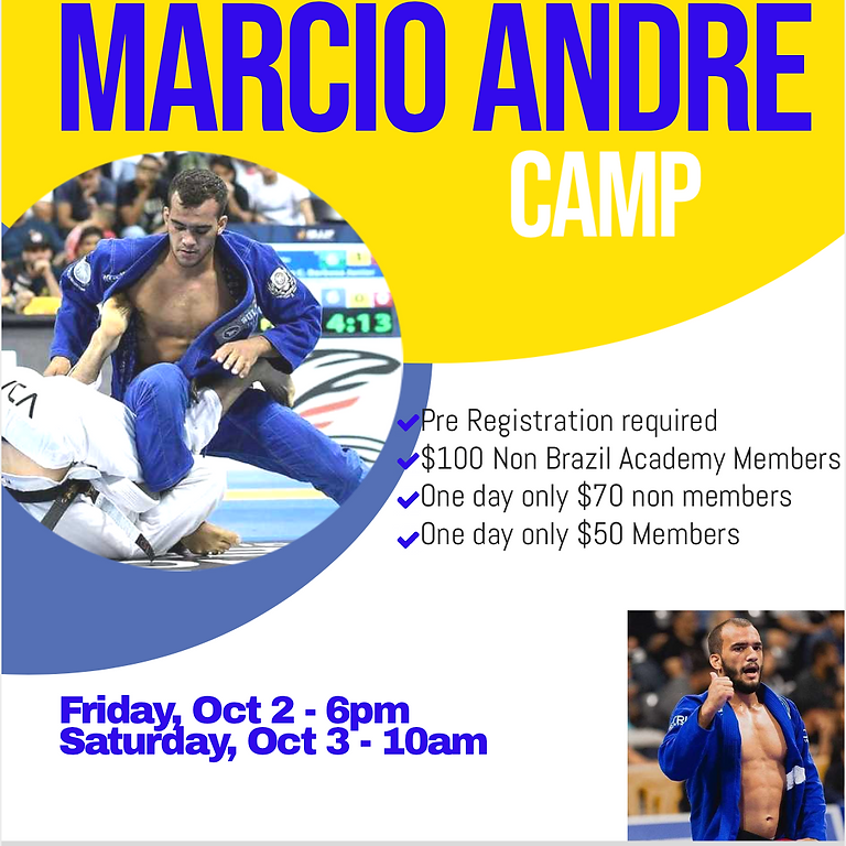 Marcio Andre BJJ Camp
