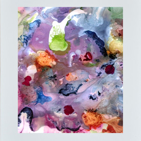 New Work – Rainy Spring Garden IV