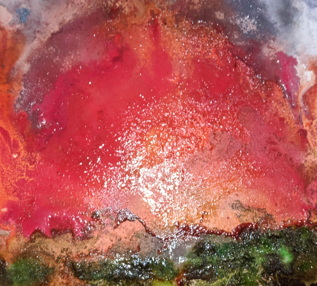 Flaming Sunset III