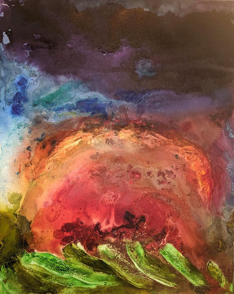 Flaming Sunset IV