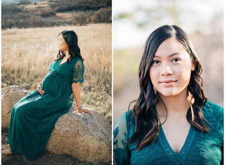 Moreah and Earl | Colorado Springs Maternity Photographer