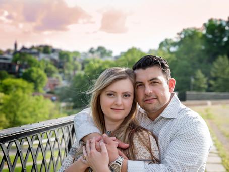 Krista and Gio- Eden Park Engagement