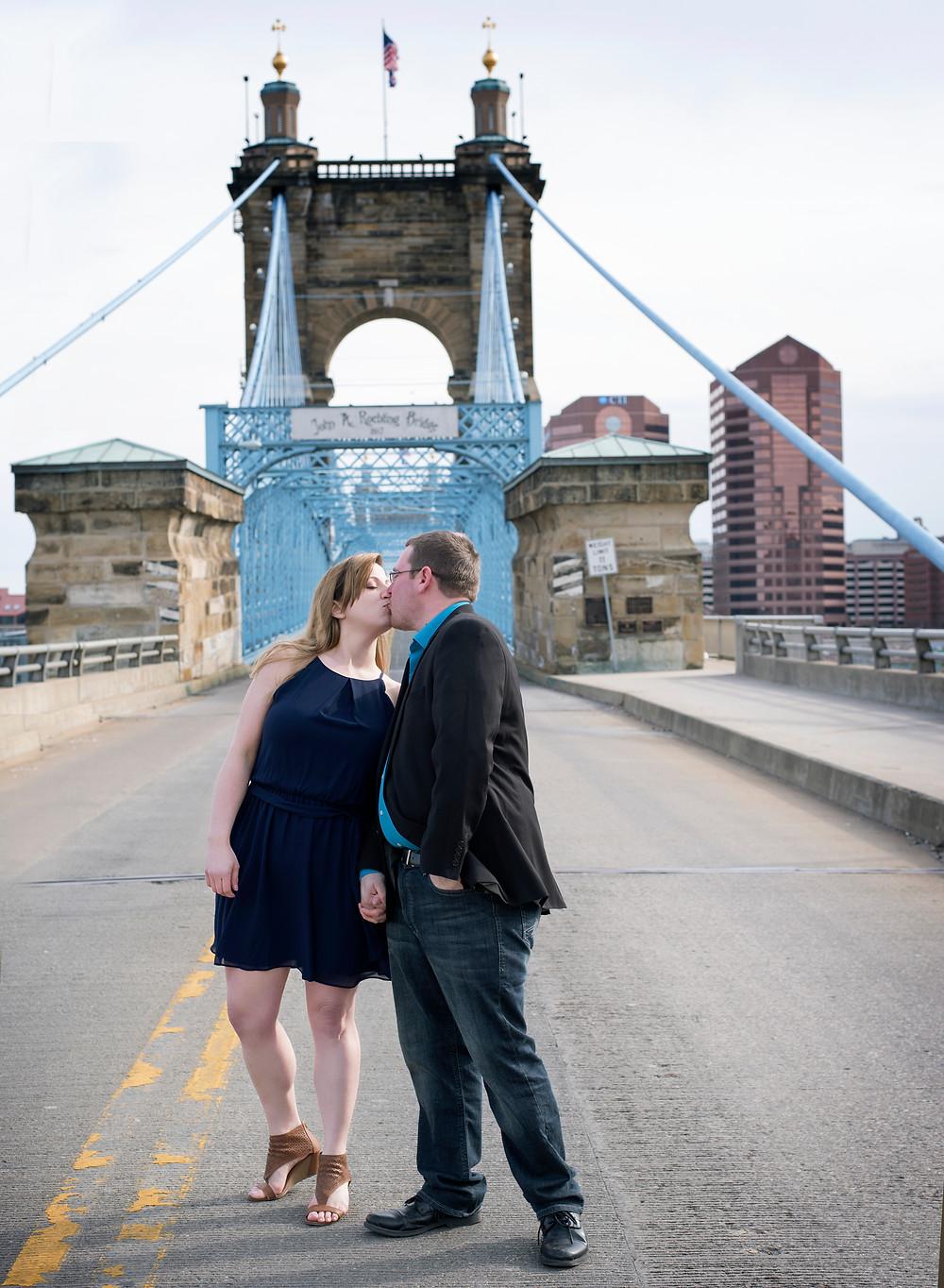 Sawyer Point Park Engagement | Cincinnati | Amanda D Photography
