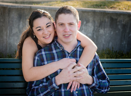 Dayton Ohio | Riverscape | Engagement | Emi and Zach