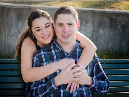 Dayton Ohio | Riverscape | Engagement | Emi and Zach