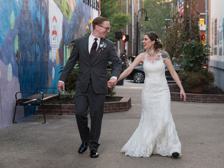 Baum Opera House Wedding Reception | Miamisburg Ohio | Amberly and Tom