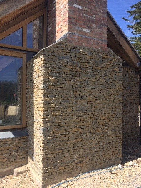 Traditonal stone cladding