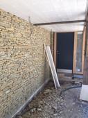 Traditional stone cladding