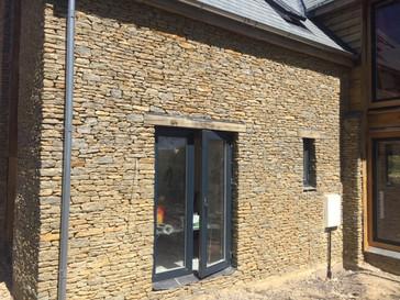 Contemporary stone cladding