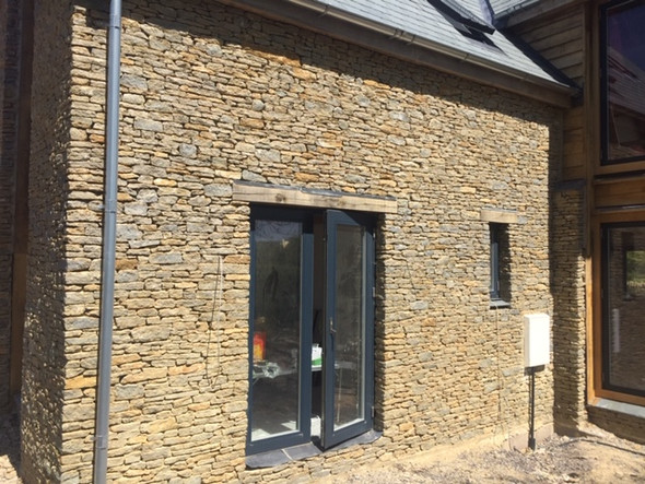 Contemporary stone cladding
