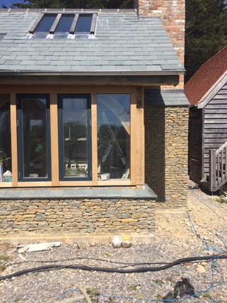 Traditional stone cladding