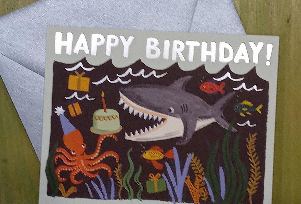 Happy Birthday Shark