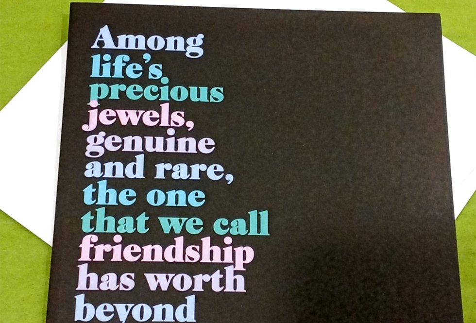 Irish Blessing Card (Precious Jewels)