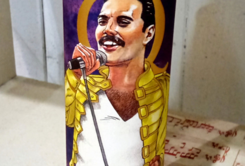 Freddie Mercury Candle