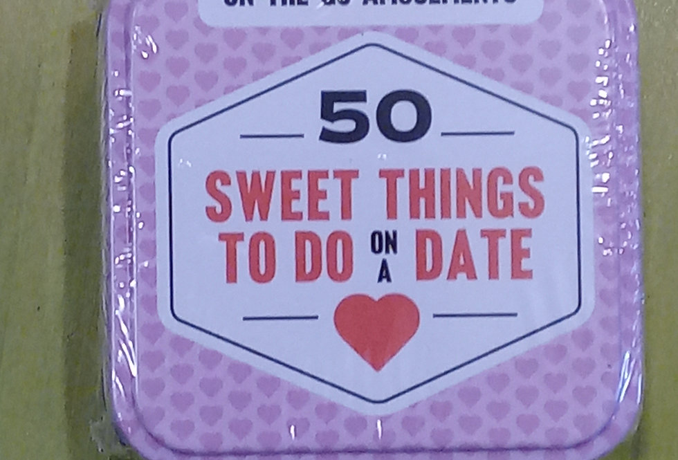 50 Sweet Things To Do On A Date